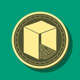 Monedas NEAS del ejemplo del vector Fotos de archivo libres de regalías