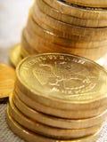 Monedas rusas Imágenes de archivo libres de regalías