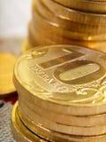 Monedas rusas Fotos de archivo libres de regalías
