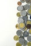 Monedas tailandesas del ` s Foto de archivo libre de regalías