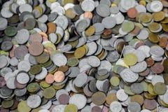 Monedas viejas Imagen de archivo libre de regalías