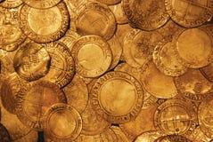 Monedas viejas Foto de archivo