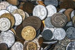 Monedas viejas 5 fotos de archivo libres de regalías