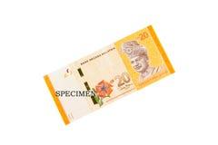 Monedas y billetes de banco de la moneda de Malasia fotos de archivo