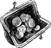 Monedero Imagen de archivo libre de regalías