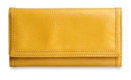 Monedero amarillo Fotografía de archivo libre de regalías