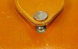 Monedero de cuero foto de archivo libre de regalías