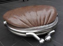 Monedero de mármol grande. Fotografía de archivo libre de regalías