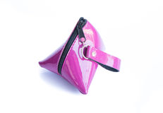 Monedero púrpura aislado Imagen de archivo libre de regalías