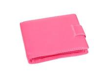 Monedero rosado Imagen de archivo libre de regalías