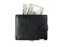 Monedero y dinero Imagen de archivo libre de regalías