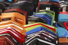 Monederos del dinero Foto de archivo