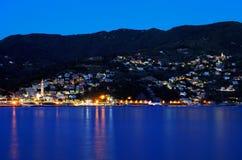 Moneglia on the Italian Riviera. Moneglia Resort on the Italian Riviera, Europe Royalty Free Stock Images