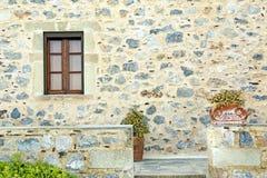 Monemvasia, Ελλάδα, αρχιτεκτονική λεπτομέρεια Στοκ Εικόνες