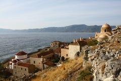 monemvasia Греции Стоковые Фото