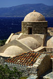 Monemvasia Royaltyfria Bilder