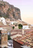 Monemvasia castle town in Lakonia, Greece Stock Photo