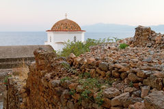 Monemvasia Church Dome Royalty Free Stock Image