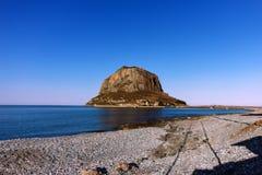 Monemvasia - de Peloponnesus - Griekenland Royalty-vrije Stock Afbeelding