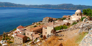 Monemvasia or the end of the world Stock Images