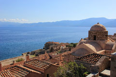 Monemvasia greece Stock Photos