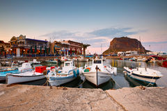 Monemvasia in Greece. Royalty Free Stock Images