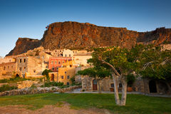 Monemvasia in Greece. Royalty Free Stock Photography