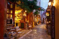 Monemvasia in Greece. stock photos