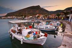 Monemvasia i Grekland Fotografering för Bildbyråer