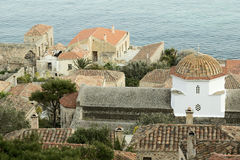 Monemvasia Old Architecture Royalty Free Stock Photos
