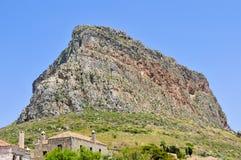 monemvasia skała Zdjęcia Royalty Free