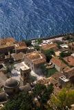 Monemvasia village in Greece royalty free stock image