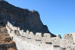 Monemvassia - Peloponnes - Griechenland lizenzfreies stockfoto
