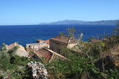 Monemvassia - peloponnese - greece Royalty Free Stock Photography