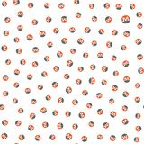 Monero - Seamless Pattern. Many small Monero cryptocurrency icons. stock illustration