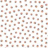 Monero - modèle sans couture Beaucoup de petites icônes de cryptocurrency de Monero illustration stock