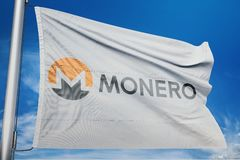 Monero XMR crypto network. Monero is an open-source cryptocurrency created in April 2014 that focuses on fungibility, privacy and decentralization. Monero uses royalty free stock image