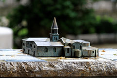 Monestery model Stock Images