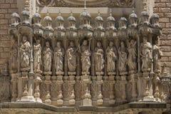 Monestir de Montserrat - Catalonia - Spain Stock Images