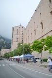 Monestir de Montserrat, Catalonia, Spain. Stock Image