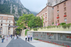 Monestir de Montserrat, Catalonia, Spain. Royalty Free Stock Photos