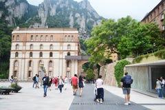 Monestir de Montserrat, Catalonia, Spain. Royalty Free Stock Image