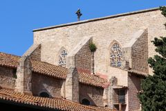 Monastery of Pedralbes Royalty Free Stock Image