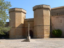 Monestir de Poblet, Tarragona ( Spain ) Royalty Free Stock Photo