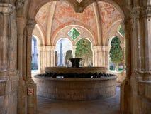 Monestir de Poblet, Tarragona ( Spain ) Stock Photography