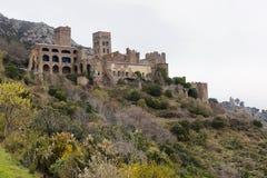 Monestir De Sant Pere de Rodes, Hiszpania zdjęcia royalty free