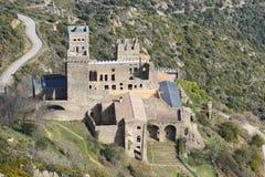 Monestir De Sant Pere de Rodes, Hiszpania fotografia royalty free