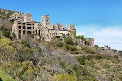 Monestir DE Sant Pere de Rodes, Spanje Stock Fotografie