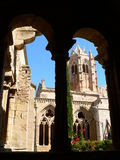 Monestir de Santa Maria de Vallbona ( Spain ) Royalty Free Stock Photo