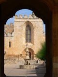 Monestir de Santes Creus, Aiguamurcia (Cataluña) Foto de archivo libre de regalías